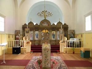 Kiriku sisevaade